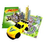 小车迷:城市穿梭(与众不同的超级拼插――带轨道,玩赛车,能组合)