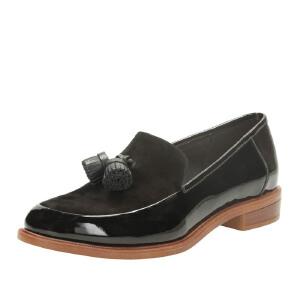 【香港现货】Clarks/其乐女鞋2017秋冬新款时尚流苏正装单鞋Taylor Spring专柜正品直邮