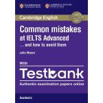 【预订】Common Mistakes at IELTS Advanced Paperback with IELTS