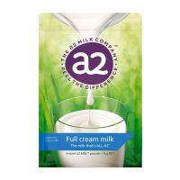 【2袋装】新西兰A2 袋装高钙全脂高蛋白儿童学生成人奶粉1kg 保质期到18年2月份左右