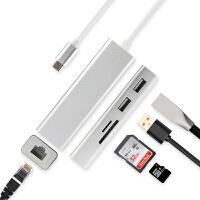 USB-C拓展�]微�Surface Go�D�Q器Book2�D接�^平板��X�B接�W�USB�W口