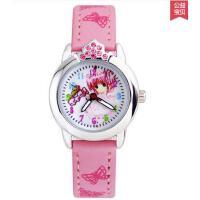 女童手表 智能手表 户外多功能电子表 时尚可爱手表女孩 女童韩版卡通表皮带小学生表石英表