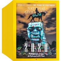 美国 National Geographic 杂志 订阅2020年 F21 美国国家地理 摄影杂志