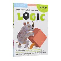 Kumon Kindergarten Logic 5-6岁 公文式教育 幼儿园英语启蒙教辅 思维技巧练习册 逻辑力训练