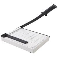 齐心办公切纸刀A4/B5/A3裁纸刀手动照片馆相片卡片铡刀钢制