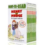 英文原版绘本Henry and Mudge亨利和玛吉套装1-28盒装Ready to Read Level2儿童启蒙分