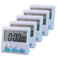 时间管理器计时器倒记厨房定时器电子提醒器秒表学生时间管理做题闹钟家用 5只装