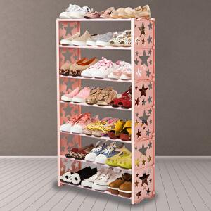 鞋架 多层鞋架鞋柜家用经济型简易组装鞋柜架子柜子收纳架简约宿舍防尘收纳鞋架 创意家具