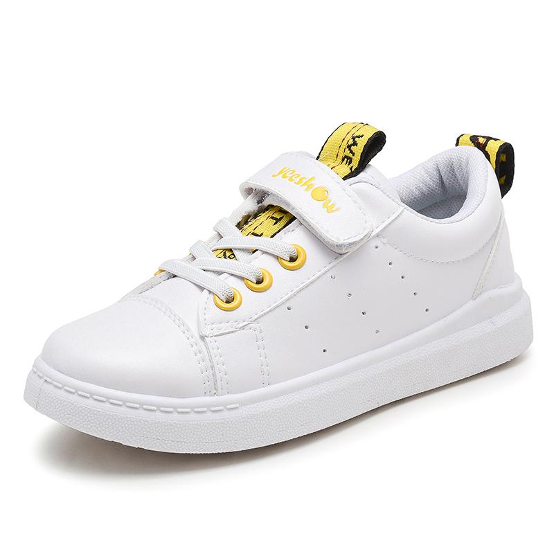 女童运动鞋儿童鞋子小学生男童鞋宝宝小白鞋