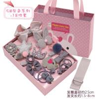 【�Y盒套�b】小女孩生日�Y物 �和��l�小女孩�^�女童�l�A�n��皮筋�^�K����公主皇冠�l卡�A子