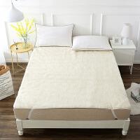 【最后24小时,每满100减50】当当优品羊羔毛床垫 纯羊毛全棉防潮床垫 双人加大床褥180*200cm