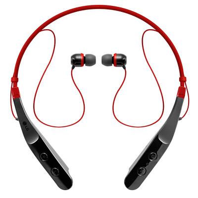 LG HBS-510无线音乐耳机 颈戴式运动耳机 耳塞式立体声跑步通用型轻量舒适 简单易用