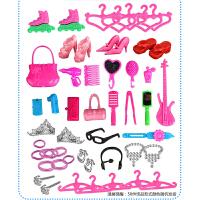 芭比娃娃玩具套装大礼盒 公主婚纱布娃娃穿衣服 小女孩生日礼物3-4-5-6岁