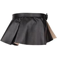 裙摆腰假两件腰带女加宽复古装饰衬衫裙子