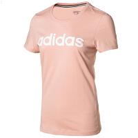 Adidas阿迪�_斯女�bNEO�\�佣绦湫蓍e透��T恤FP7875
