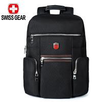 SWISSGEAR瑞士军刀双肩背包 运动包书包笔记本电脑包15.6英寸大容量防泼水