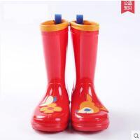 儿童潮流韩版PVC防水雨鞋学生徒步防滑耐磨雨靴小孩学生胶鞋 可礼品卡支付