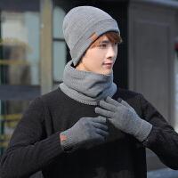 帽子男冬天棉帽男士冬季潮针织帽青年防寒骑车毛线帽