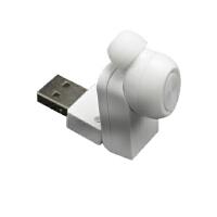 BaaN M11迷你车载蓝牙USB磁吸充电4.1版无线耳机 白色
