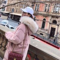 棉衣女中长款2018新款冬季宽松羽绒棉袄ins面包服过膝外套潮
