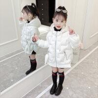 №【2019新款】小朋友穿的女童冬装棉衣加厚面包服童装连帽羽绒外套儿童棉袄潮
