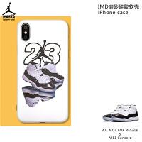 潮牌苹果x手机壳11iphone xs max套8plus个性7硅胶6s软壳xr XS/X【aj11康扣】软壳 送球鞋