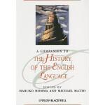 【预订】A Companion to the History of the English Language