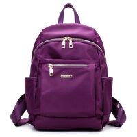 双肩包女包帆布包女士包尼龙牛津布学院风学生书包旅行背包包