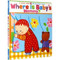 Where Is Baby's Mommy?妈妈在哪里?卡伦卡茨纸板翻翻书 英文绘本 华研原版