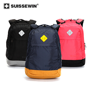 【SUISSEWIN旗舰店 支持礼品卡支付】中学生背包外出便携背包双肩包休闲运动背包