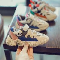 冬季保暖儿童鞋子宝宝大童女童男童老爹鞋休闲运动鞋