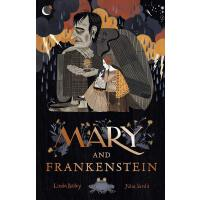 英文原版 Julia Sarda绘本 玛丽・雪莱的故事 平装 纪念《弗兰肯斯坦》200周年 Mary and Frank