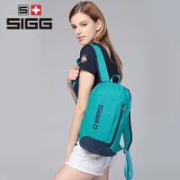 希格SIGG简约时尚双肩背包大容量男女旅行背包耐磨休闲户外运动包