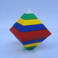 魔方三阶 套装菱形积木初学减压比赛儿童专用嵌套玩具 金字塔魔方