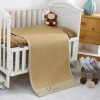 婴儿凉席儿童藤席宝宝幼儿园新生儿床夏季婴儿席