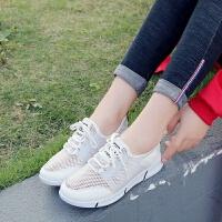 透气运动鞋子女学生韩版百搭跑步鞋ins老爹鞋休闲平底单鞋女夏潮