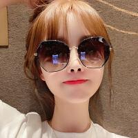墨镜女韩版潮大框防紫外线偏光ins太阳眼镜圆脸大脸显瘦