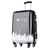 拉杆万向轮旅行箱子男女情侣行李箱旅游箱包20寸登机硬箱子