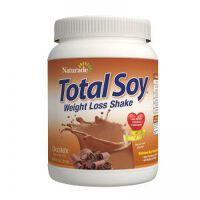 健康保税区直发 美国Naturade Total Soy营养代餐粉奶昔 巧克力味 540g 减肥 瘦身