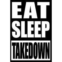 【预订】Eat Sleep Takedown Gift Note book for Wrestlers, Medium