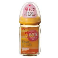 【当当海外购】保税区直发 日本Pigeon贝亲母乳实感PPSU奶瓶 SS橙色 160ml