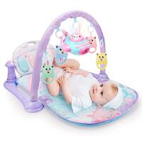 0-1岁宝宝脚踏健身架新生儿3-6-12个月音乐启蒙礼物儿童玩具男女