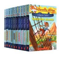 老鼠记者英文原版 世界经典文学名著系列 Geronimo Stilton Classic Tales 儿童版5册合售