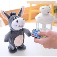 会说话的驴小毛驴公仔面包超人儿童玩具走路跳舞学舌驴跳跳猪