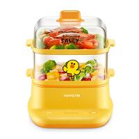 电蒸锅多功能家用智能保温早餐机小型自动断电蒸笼多层蒸菜锅kb6