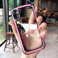 新款苹果X手机壳6plus全包防摔iPhone7潮牌男女款8plus硅胶8x 7plus/8plus 粉色-烤漆