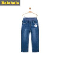 巴拉巴拉童装女童牛仔长裤幼童宝宝裤子2017春装新款儿童牛仔裤