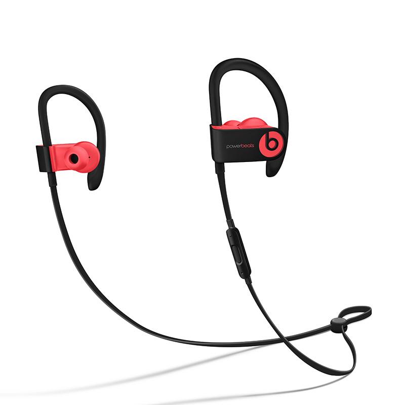 【礼品卡】Beats Powerbeats 3 Wireless 无线蓝牙耳机 入耳式运动耳机 耳挂式跑步音乐耳机 (带麦) 超长待机 充电5分钟播放1小时全国联保国行 带防伪 超长待机 快速充电