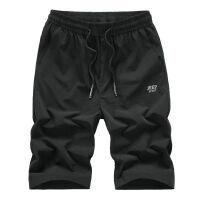 吉普JEEP夏装薄款清凉短裤 男士大码宽松5分裤 中高腰松紧腰半裤 沙滩裤