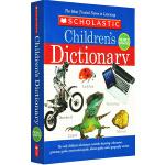 Scholastic Children's Dictionary 学乐儿童图画词典 英英字典 儿童英语工具书 全彩 英